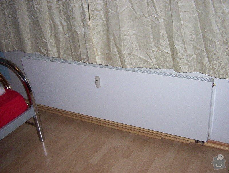 Rekonstrukce jádra a napojení ventilátoru na stoupačku, výměna radiátoru : 000_0234