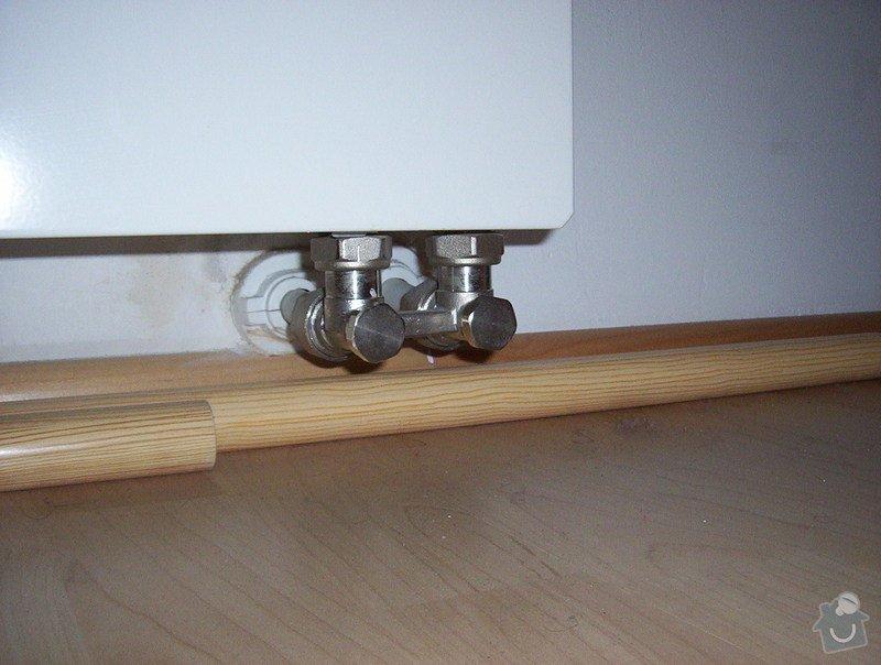 Rekonstrukce jádra a napojení ventilátoru na stoupačku, výměna radiátoru : 000_0236