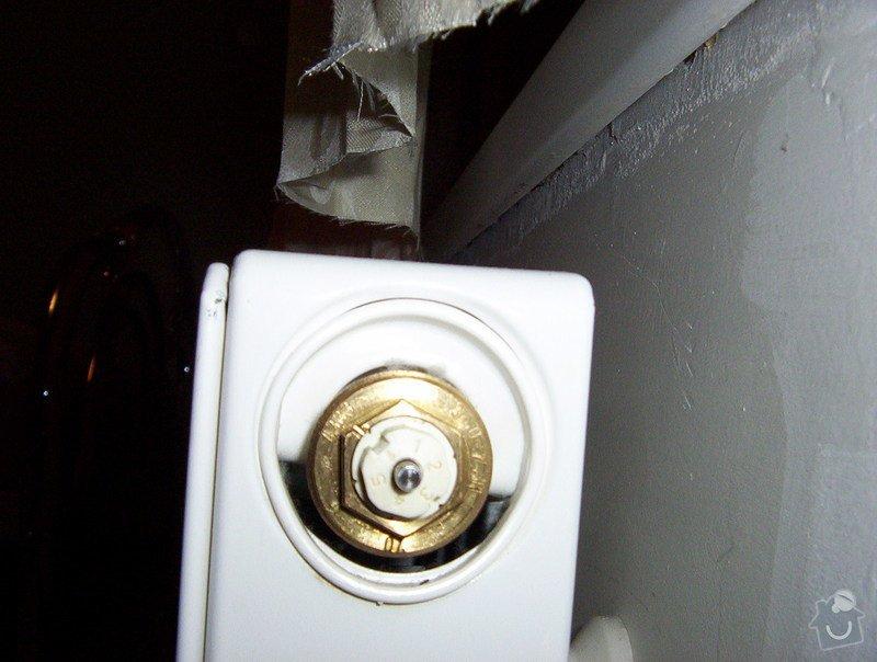 Rekonstrukce jádra a napojení ventilátoru na stoupačku, výměna radiátoru : 000_0237