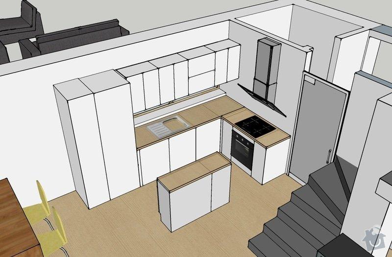 Motáž Kuchyně Ikea: kuchyne_RD_Hostivice