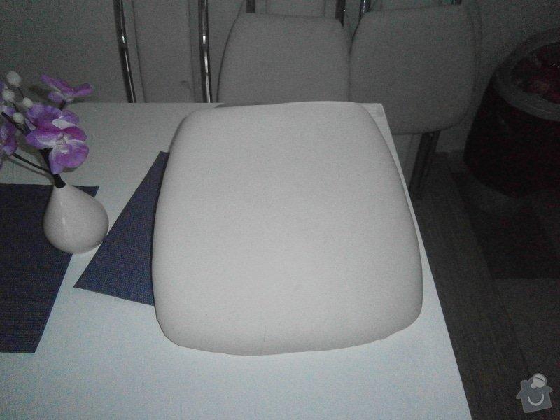 Potažení 5ks židlí: P2270179