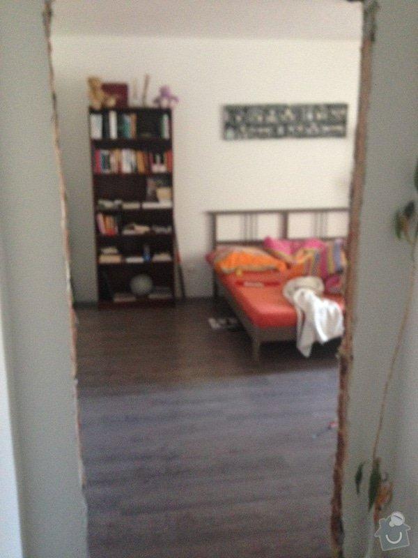 Dřevěné obložky a dřevěné dveře + truhlářsképráce: loznice