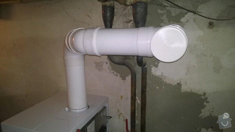 Montáž kondenzačního kotle Vaillant VK 306ecoVIT: WP_20140213_006