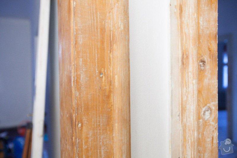 Výroba atypického dveřního prahu / kopie futra: _MG_2179