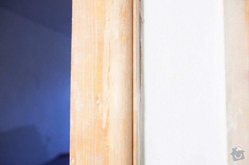 Výroba atypického dveřního prahu / kopie futra: _MG_2182