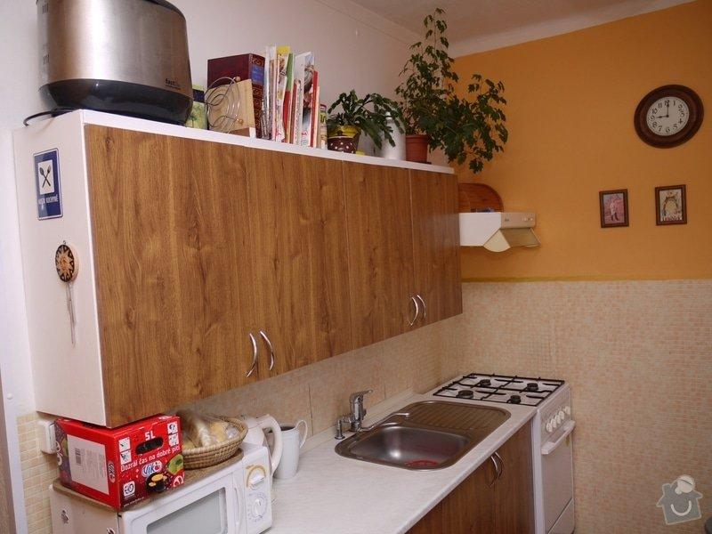 Rekonstrukce bytového jádra Kuchyňské Linky: P1270617