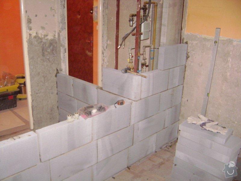 Rekonstrukce bytového jádra Kuchyňské Linky: DSC01303