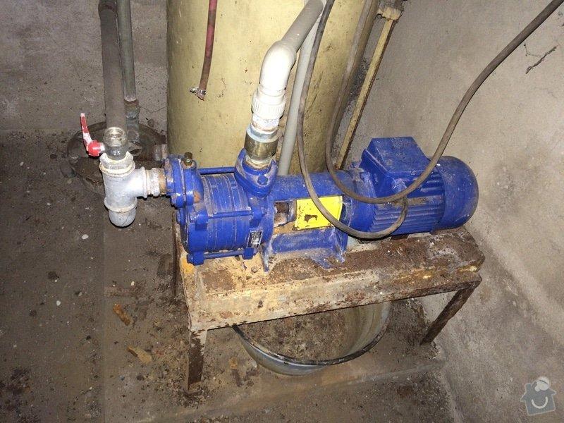 Oprava vodniho cerpadla: cerpadlo