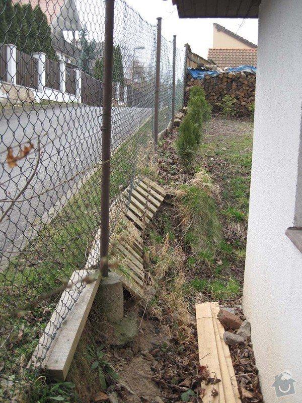 Betonovy plot na klic: Stav_predni_plot_1