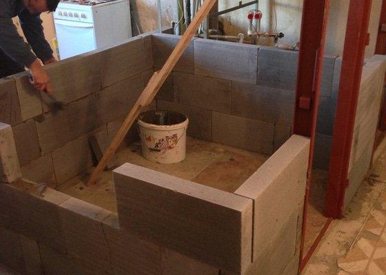 Rekonstrukce bytového jádra, kuchyně a chodby