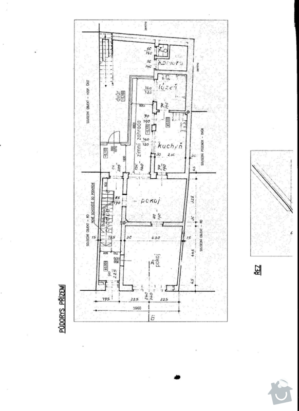 Nová elektroinstalace v přízemí RD: 002