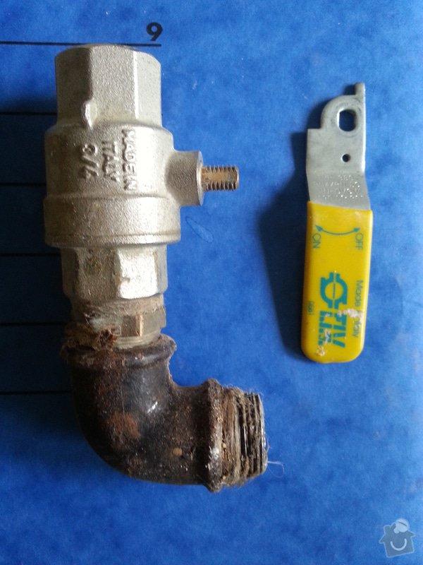 Připojení sporáku kombi, termín 4-6.3.14: sporak-ventil