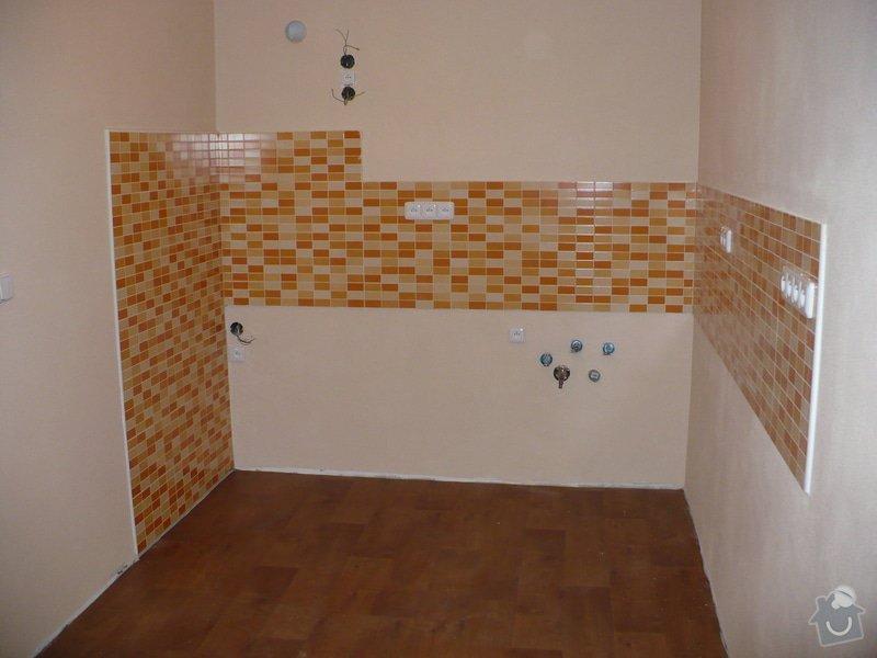 Vyzdění jádra, nová elektroinstalace v celém bytě: P1100432