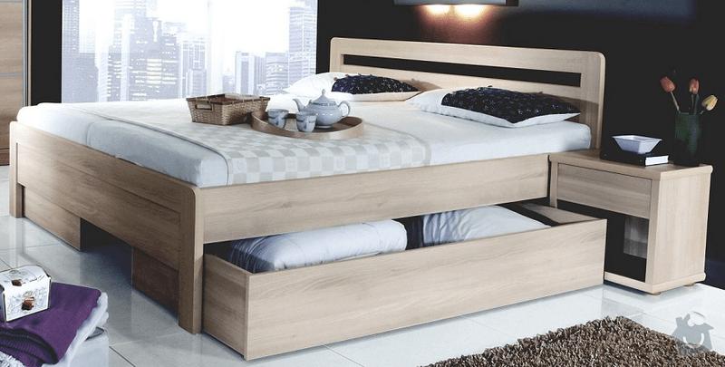 Postel z masivu: postel