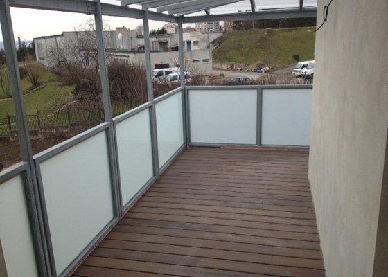 Kompletace koupelny + pozinkovaný balkon
