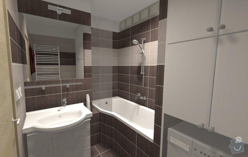 Kompletní rekonstrukce bytu v Brně-Bystrci: R001