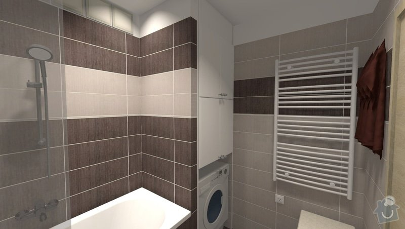 Kompletní rekonstrukce bytu v Brně-Bystrci: R002