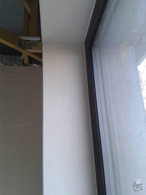 Strojní omítka sádrová hlazená: 20140226_094947