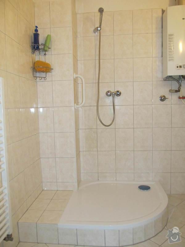 Montáž sprchového koutu vyráběného dle dispozice: IMG_0001