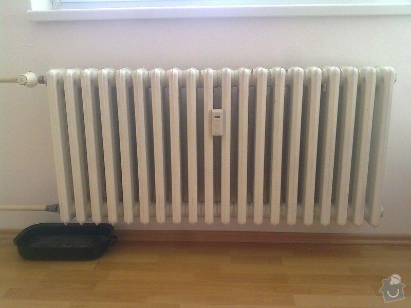 Výměna 2 radiátorů: 2