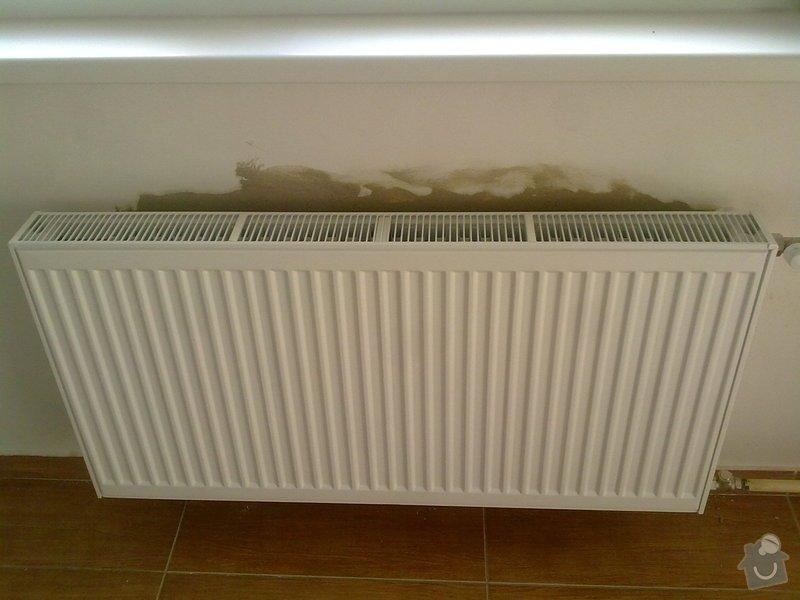 Výměna 2 radiátorů: 5