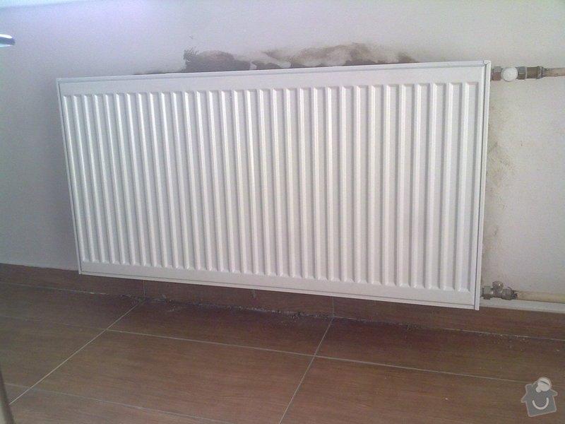 Výměna 2 radiátorů: 6