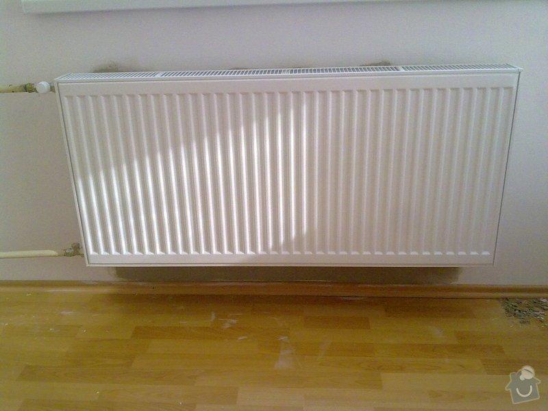 Výměna 2 radiátorů: 7