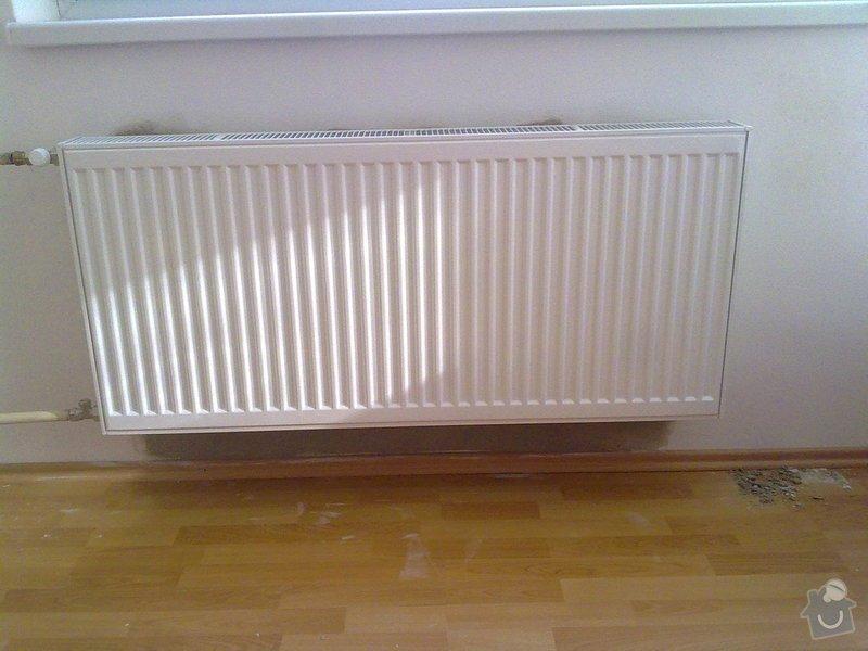 Výměna 2 radiátorů: 8
