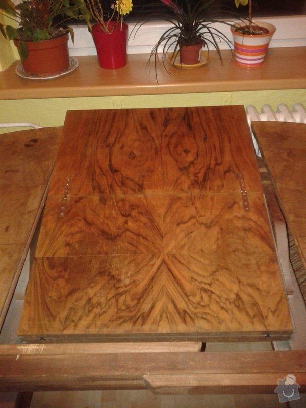 Renovaci starého stolu: Obr.2