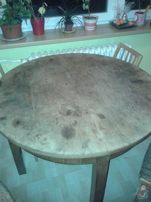 Renovaci starého stolu: Obr.1