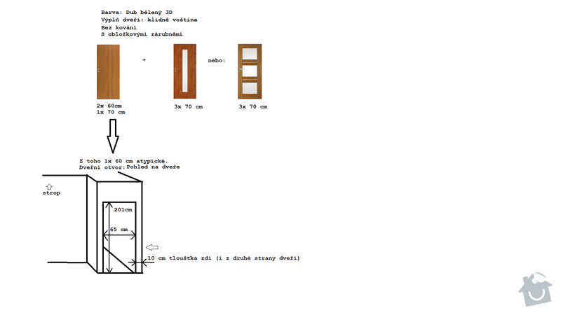 Dodávka a montáž interiérových dveří: dvere_-_poptavka
