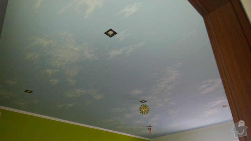 Realizace hvězdného nebe v ložnici a dětském pokoji na Slovensku -inspirace: 20140303_133112