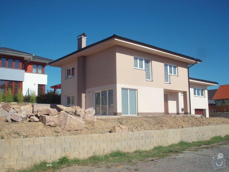 Novostavba rodinného domu: P9250031