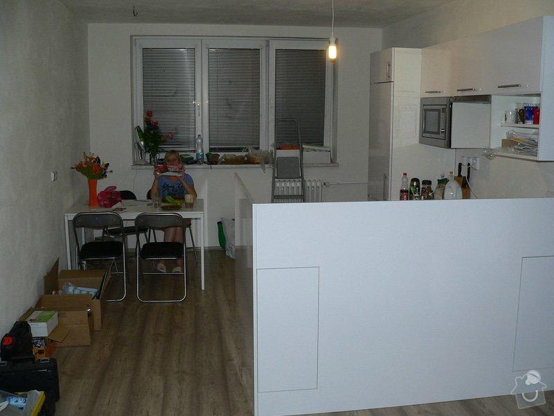 Rekonstrukce bytu, změna dispozic ze 2+1 na 3+kk: P1120588