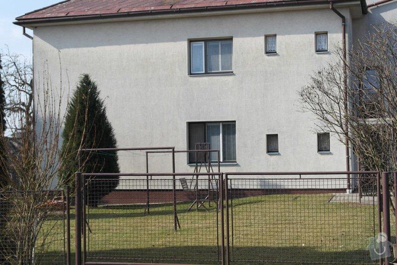 Nátěr fasády rodiiného domu: SAM_0784