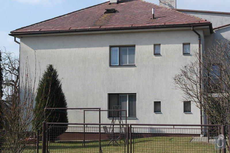 Nátěr fasády rodiiného domu: SAM_0785