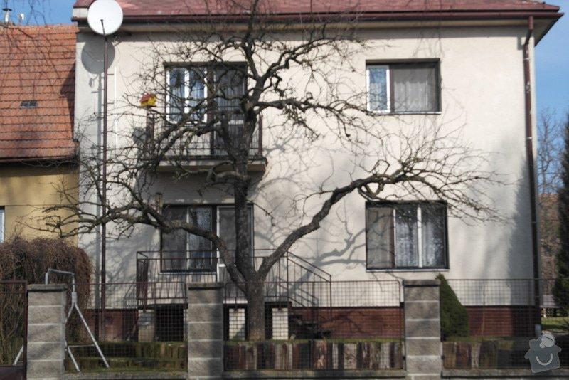 Nátěr fasády rodiiného domu: SAM_0786