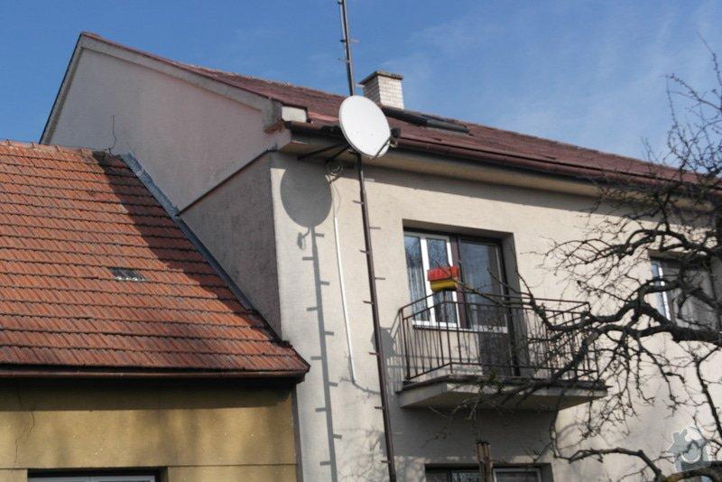 Nátěr fasády rodiiného domu: SAM_0787