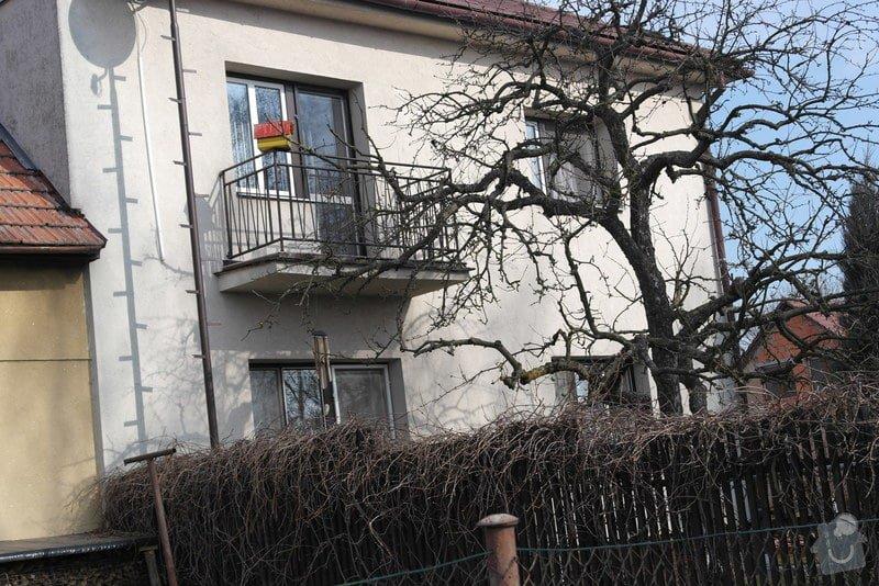 Nátěr fasády rodiiného domu: SAM_0788
