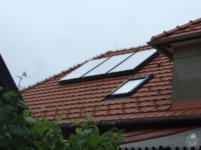 Montáž solárního ohřevu: DSCF5141