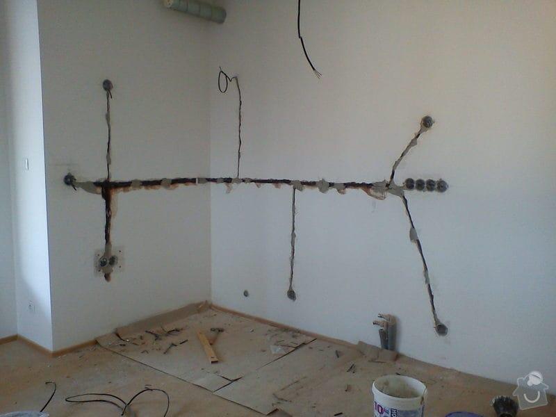 Elektroinstalace - nová kuchyňská linka: DSC01333