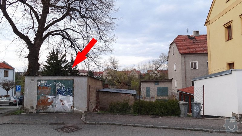 Predelani strechy na garazi: Garaz