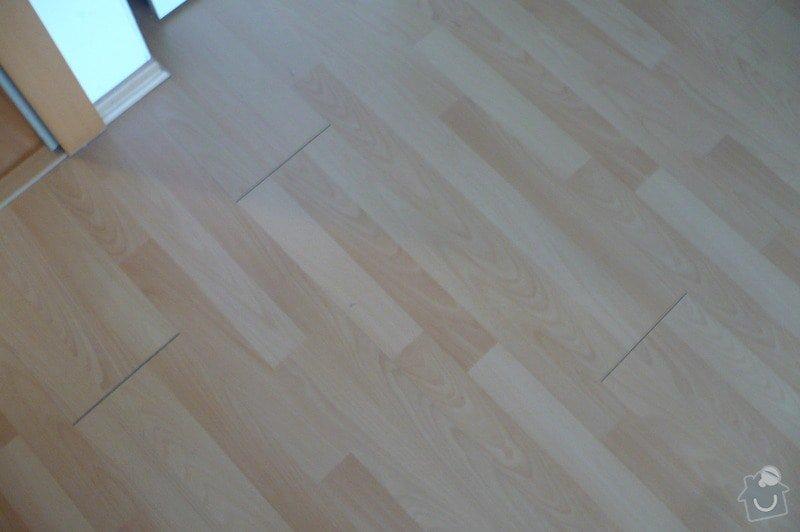 Oprava laminátové podlahy ( škvíry): P1110685