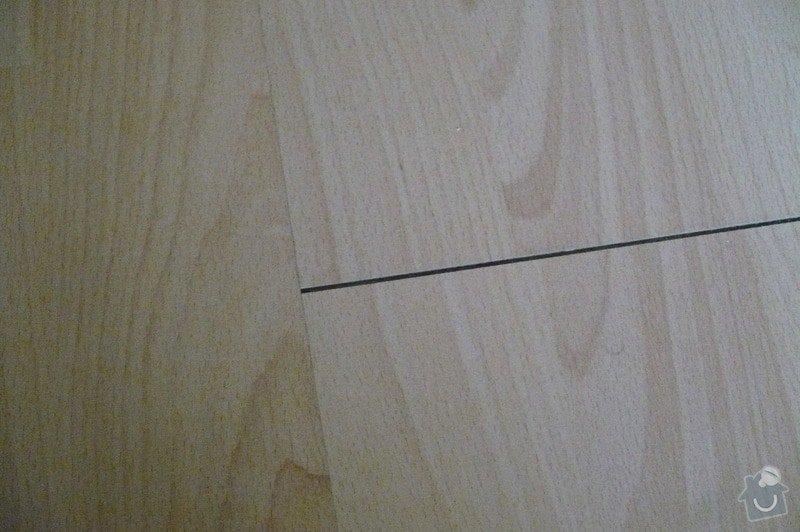 Oprava laminátové podlahy ( škvíry): P1110687