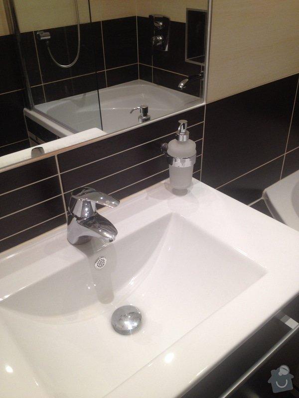 Stavební práce, rekonstrukce koupelny: 018