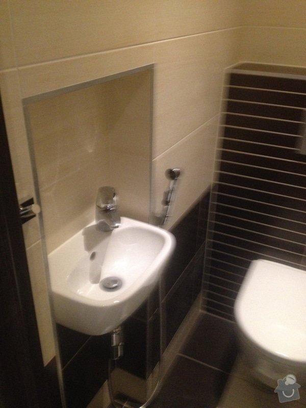 Stavební práce, rekonstrukce koupelny: 020