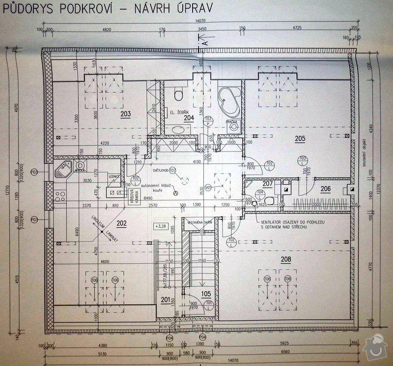 Rekonstrukce RD: C_Podkrovi_navrh_uprav11