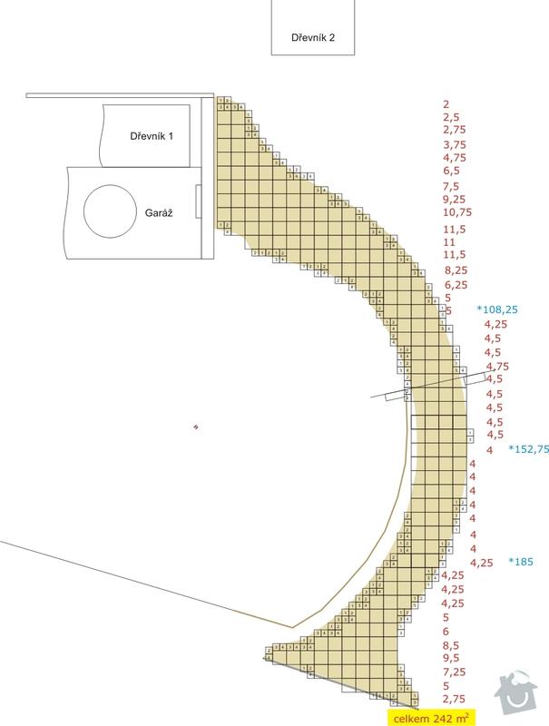 Žulovou dlažbu-odseky-250m2: cesta_plocha