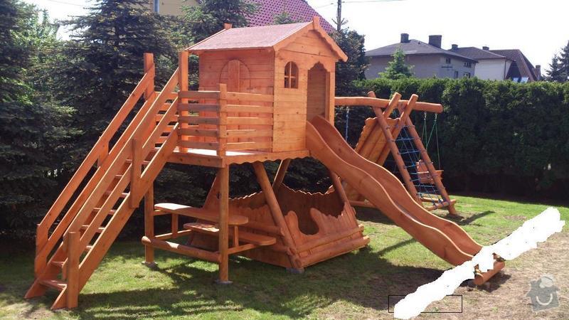 Dětské dřevěné hřiště: detske_hriste