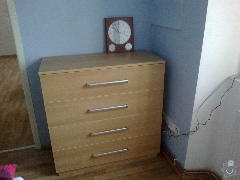 Nábytek na zakázku do obývacího pokoje a do ložnice: 04032014618